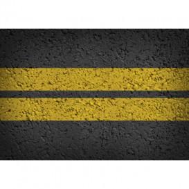 Fototapeta na stenu - FT5499 - Asfaltová cesta - dva pruhy