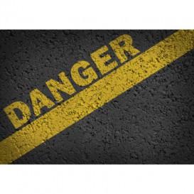 Fototapeta na stenu - FT5502 - Asfaltová cesta - nebezpečenstvo