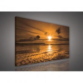 Obraz na plátne obdĺžnik - OB0209 - Západ slnka