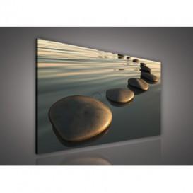 Obraz na plátne obdĺžnik - OB0214 - Kamene