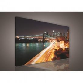 Obraz na plátne obdĺžnik - OB0008 - Mesto zrýchlené