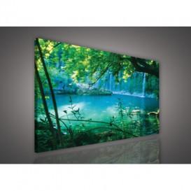 Obraz na plátne obdĺžnik - OB0518 - Vodopád