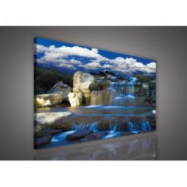 Obraz na plátne obdĺžnik - OB0530 - Vodopád