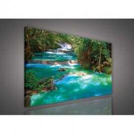 Obraz na plátne obdĺžnik - OB0531 - Vodopád