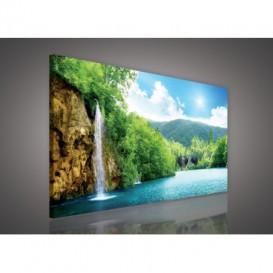 Obraz na plátne obdĺžnik - OB0216 - Vodopád