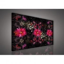 Obraz na plátne obdĺžnik - OB0553 - Ružové kvety