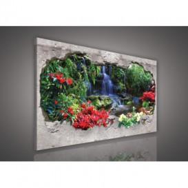 Obraz na plátne obdĺžnik - OB0574 - Vodopád