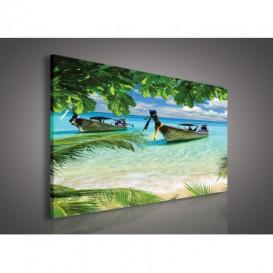 Obraz na plátne obdĺžnik - OB0220 - Pláž