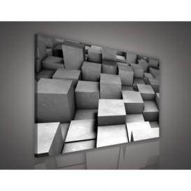 Obraz na plátne obdĺžník - OB0614 - 3D kocky