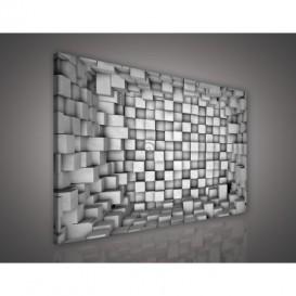 Obraz na plátne obdĺžník - OB0615 - 3D kocky