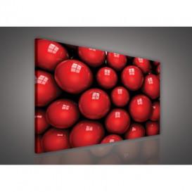 Obraz na plátne obdĺžnik - OB0617 - 3D gule