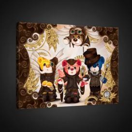 Obraz na plátne obdĺžnik - OB0619 - Medvedíky