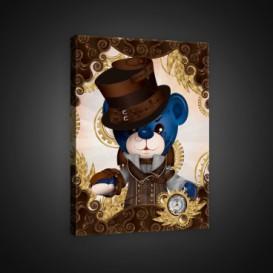 Obraz na plátne obdĺžnik - OB0625 - Medvedíky