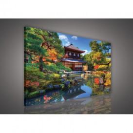 Obraz na plátne obdĺžnik - OB0224 - Dom v prírode