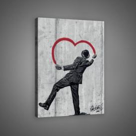 Obraz na plátne obdĺžnik - OB0664 - Srdce