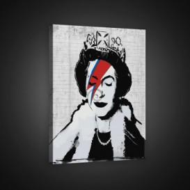 Obraz na plátne obdĺžnik - OB0674 - Kráľovná Alžbeta