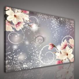 Obraz na plátne obdĺžnik - OB0681 - Ružové kvety
