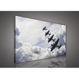Obraz na plátne obdĺžnik - OB0196 - Lietadla