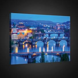 Obraz na plátne obdĺžnik - OB0691 - Praha