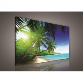 Obraz na plátne obdĺžnik - OB0230 - Pláž