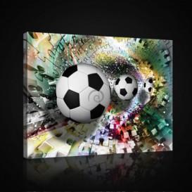 Obraz na plátne obdĺžnik - OB0700 - Futbalová lopta