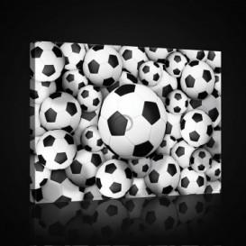 Obraz na plátne obdĺžnik - OB0702 - Futbalová lopta