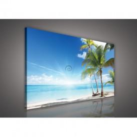 Obraz na plátne obdĺžnik - OB0231 - Pláž