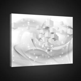 Obraz na plátne obdĺžník - OB0705 - 3D kocky