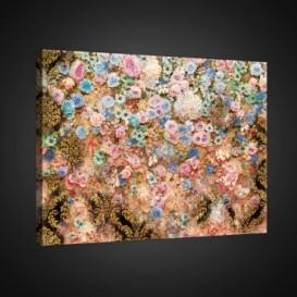 Obraz na plátne obdĺžnik - OB0714 - Farebné kvety