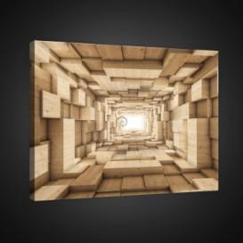 Obraz na plátne obdĺžník - OB0739 - 3D kocky