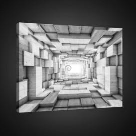 Obraz na plátne obdĺžník - OB0740 - 3D kocky