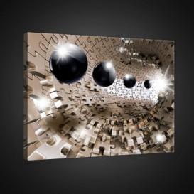 Obraz na plátne obdĺžnik - OB0741 - 3D gule
