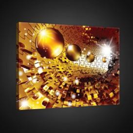 Obraz na plátne obdĺžník - OB0742 - 3D gule