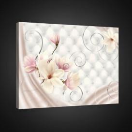Obraz na plátne obdĺžnik - OB0743 - Ružové kvety