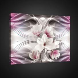 Obraz na plátne obdĺžnik - OB0745 - Ružové kvety
