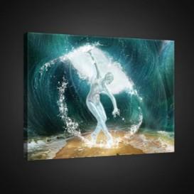 Obraz na plátne obdĺžnik - OB0756 - Baletka