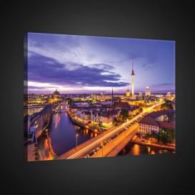 Obraz na plátne obdĺžnik - OB0771 - Nočné mesto