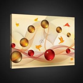 Obraz na plátne obdĺžnik - OB0781 - 3D gule