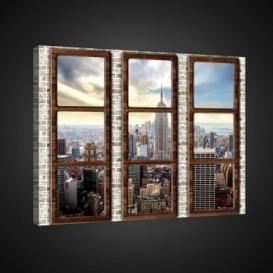 Obraz na plátne obdĺžník - OB0794 - Výhľad na New York
