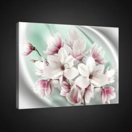 Obraz na plátne obdĺžnik - OB0820 - Ružové kvety