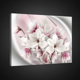 Obraz na plátne obdĺžnik - OB0821 - Ružové kvety