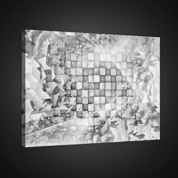 Obraz na plátne obdĺžnik - OB0825 - 3D kocky