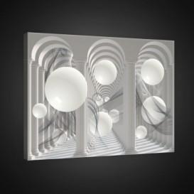 Obraz na plátne obdĺžník - OB0827 - 3D gule