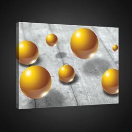 Obraz na plátne obdĺžnik - OB0832 - 3D gule
