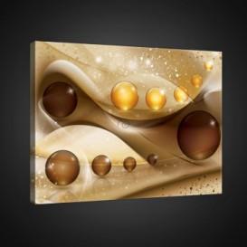 Obraz na plátne obdĺžnik - OB0834 - 3D gule