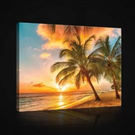 Obraz na plátne obdĺžnik - OB0864 - Pláž