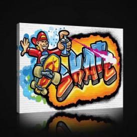 Obraz na plátne obdĺžnik - OB0869 - Grafit