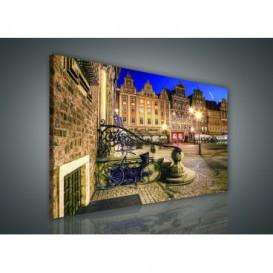 Obraz na plátne obdĺžnik - OB0883 - Nočné mesto