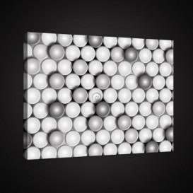 Obraz na plátne obdĺžnik - OB0892 - Kruhy