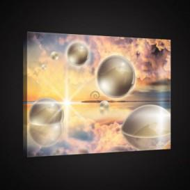 Obraz na plátne obdĺžnik - OB0897 - 3D gule
